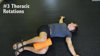 Download Thoracic Spine Mobilizations w/ Foam Roller | Prevent Low Back Pain Video