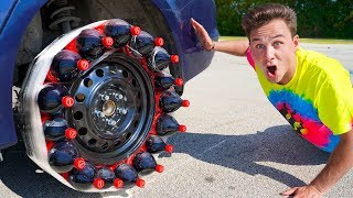 Download Driving With A COCA COLA TIRE! Video