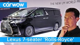 Download Lexus 'Rolls-Royce' 7-Seater - the £170,000 LM and all the best new cars at the Shanghai Auto Show Video