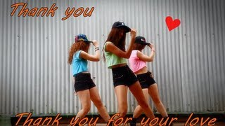 Download THANK YOU (แต๊งกิ้ว) - Thank You for Your Love cover by Ongaku no Girls Video