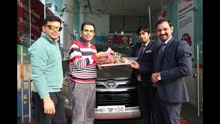 Download Taking Delivery of Innova Crysta Zx 2.8 AT, Top end variant (IMB) it's me Bishnoi Video