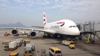 Download First Class British Airways London to Hong Kong A380 [HD] Video