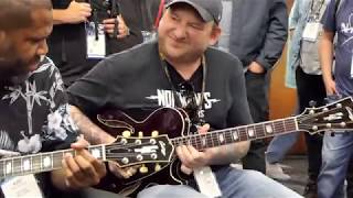 Download Josh Smith, Kirk Fletcher, Ariel Posen - ″Crosscut Saw″ Jam - Collings Guitars Booth NAMM 2019 Video