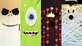 Download Disney Halloween Door Decor Four Ways | Disney Family Video
