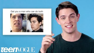 Download Riverdale's Casey Cott Reviews Riverdale Memes | Teen Vogue Video