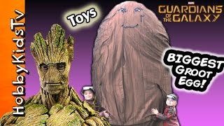 Download Giant GROOT Surprise Egg by HobbyKidsTV Video