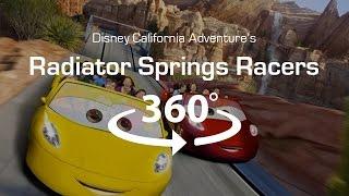 Download 4K 360 Virtual Reality Roller Coaster: Radiator Springs Racers - VR 360 Video (POV) Video