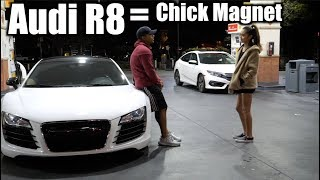 Download Picking up GIRLS in AUDI R8! (Like A BOSS) Video