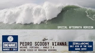 Download Pedro Scooby at Nazaré - Ride & aftermath - 2017 Billabong Ride of the Year Entry - WSL Big Wave Video