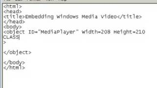 Download How to add video or audio to your website using notepad Video