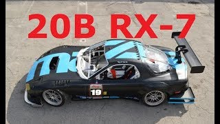 Download 20B Powered Maxda RX 7 Track Car Build Project Video