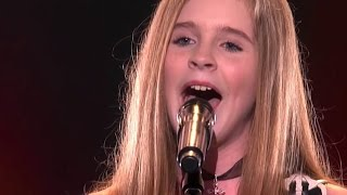 Download Country Girl Kadie Lynn, 12, Blows The Crowd Away   Judge Cuts 2   America's Got Talent 2016   Ep. 9 Video