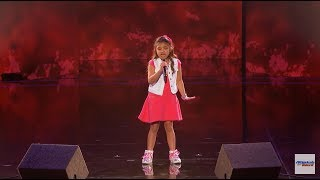 Download Angelica Hale ❥ 9-Year-Old Earns Golden Buzzer From Chris Hardwick - America's Got Talent 2017 HD Video