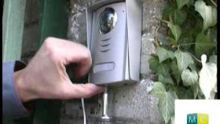 Download Bricolage - Interphone vidéo pose, DIY, installing a video intercom Video