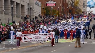 Download Tennessee State University Marching Band @ the 2016 Nashville X-Mas Parade |In 4K| Video
