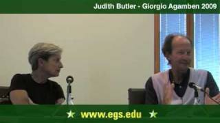 Download Judith Butler and Giorgio Agamben. Eichmann, Law and Justice. 2009 1/7 Video