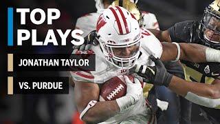 Download Top Plays: Jonathan Taylor Highlights vs. Purdue Boilermakers | Big Ten Football Video