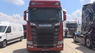 Test driving a new Scania S 730 timber truck in Norway Free