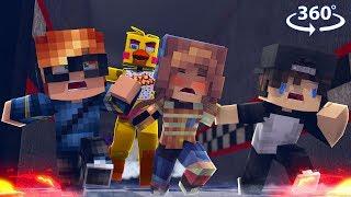 Download 360° FNAF BREAK IN! - CHICA VISION #1 - Minecraft 360° Video Video