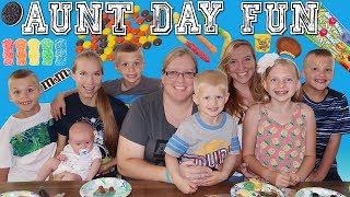 Download Aunt Day FUN! Surprise Cookie Decorating!! Video