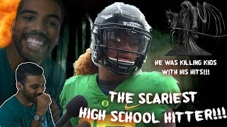 Download The Hardest Hitting High School Football Player I've Ever Seen!!! Fotu Leiato Highlights [Reaction] Video