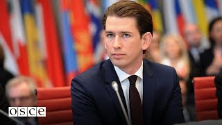 Download Inaugural speech by the 2017 OSCE Chairperson-in-Office Sebastian Kurz Video