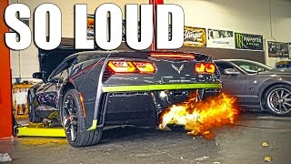 Download THE CORVETTE GETS LOUD! - C7 ARMYTRIX EXHAUST Video
