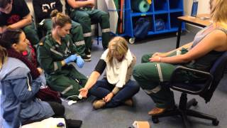 Download Tayla's respiratory scenario Video