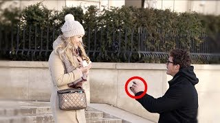 Download Proposing to Strangers at the Eiffel Tower!! Video