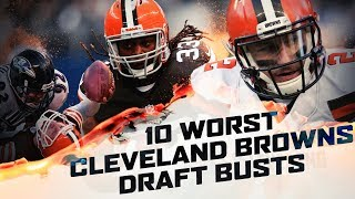 Download 10 BIGGEST Draft Busts In Cleveland Browns History Video