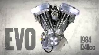 Download Cool Video on Harley Engine History with sounds of each engine! Video
