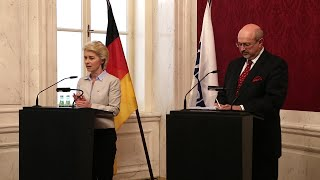 Download Press conference with OSCE Secretary General Zannier and German Defence Minister von der Leyen Video