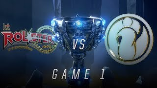 Download KT vs IG | Quarterfinal Game 1 | World Championship | kt Rolster vs Invictus Gaming (2018) Video