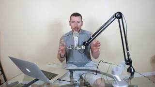Download Blue Yeti microphone + Radius 2 shockmount + Rode PSA1 boom arm: unboxing, test, review, setup guide Video