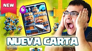 Download TODO SOBRE LA NUEVA CARTA: RECLUTAS REALES CONFIRMADOS | Clash Royale Video