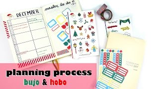 Download Planning in my Bullet Journal & Hobonichi - Prepping for December Video