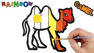 Download Rainbow Camel Warna-Warni Belajar Menggambar dan Mewarnai untuk Anak Video