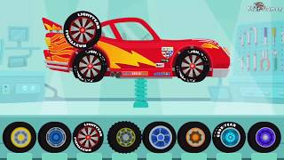 Download Dinosaur Cartoons - Car & Truck Driver | Cars : Lightning McQueen, Monster Truck - Videos for Kids Video
