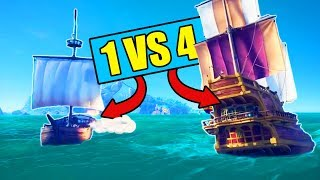 Download 1v4 in Sea of Thieves! *SPOILERS* (I WIN!) Video