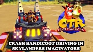 Download Crash Team Racing ″recreated″ on PS4 in Skylanders Imaginators - Crash Bandicoot GAMEPLAY Video