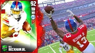 Download YOU CANT GUARD THIS CARD! ODELL BECKHAM!- Madden 17 Ultimate Team Video