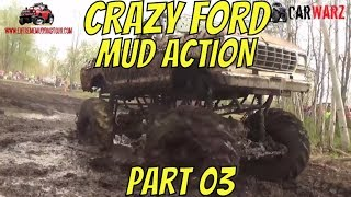 Download CRAZY FORD MEGA TRUCK MUDDING ACTION BEST OF PART 03 Video