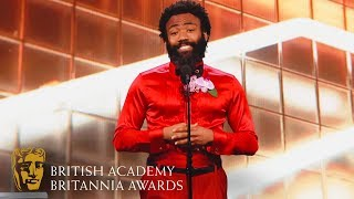 Download Donald Glover Funny Tribute to Phoebe Waller-Bridge | 2019 BAFTA Britannia Awards Video