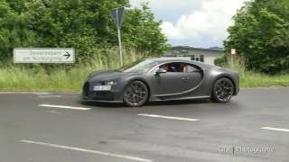 Download Bugatti Chiron Prototype Vehicle on the Nürburgring - Part 1 Video