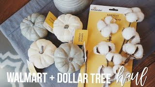 Download HUGE Walmart + Dollar Tree FALL Haul! | Come Shopping With Me!! Video