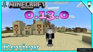 Download Minecraft PE 0.13.0 Build 1 Review y Cambios - RedStone, Conejos y más / No Apk Video