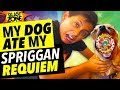My Dog Ate My Spriggan Requiem! Beyblade Burst Battle and Funny Dog Prank !
