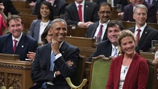 Download Canadian Lawmakers Chant 'Four More Years' to Obama Video