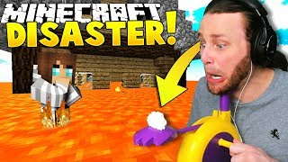 Download Minecraft: NATURAL DISASTERS!! (Pie Face Challenge) - Mini-game Video