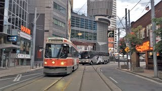Download Driving Downtown - Toronto Centre 4K - Canada Video